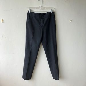 J Crew Paley Pant Charcoal Grey Size 2